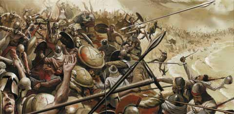 Rivalidade Entre Esparta e Atenas