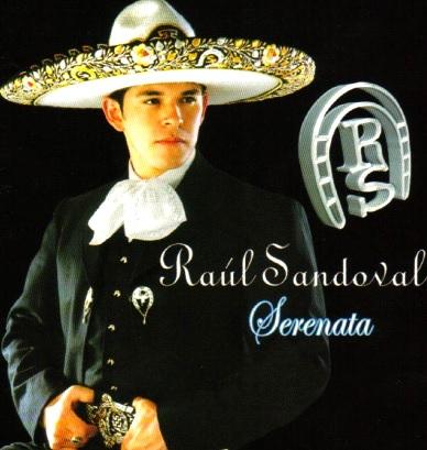 Foto de Raúl Sandoval en portada de disco