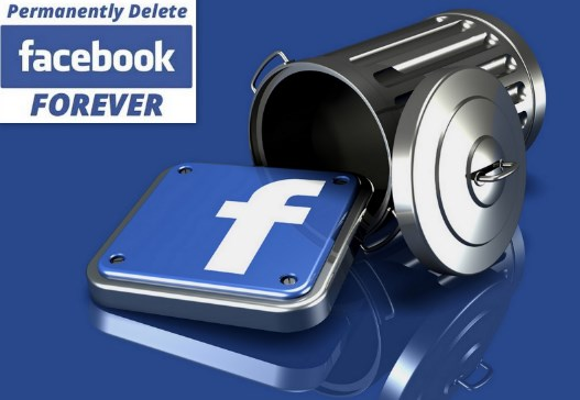 delete facebook account permanently forever