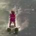 Bayi Suka Bermain Ski Air, Baru Usia 6 Bulan, Sudah Suka Olahraga Ekstrim