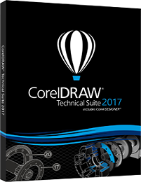 CorelDRAW Technical Suite 2017 19.1.0.448 poster box cover