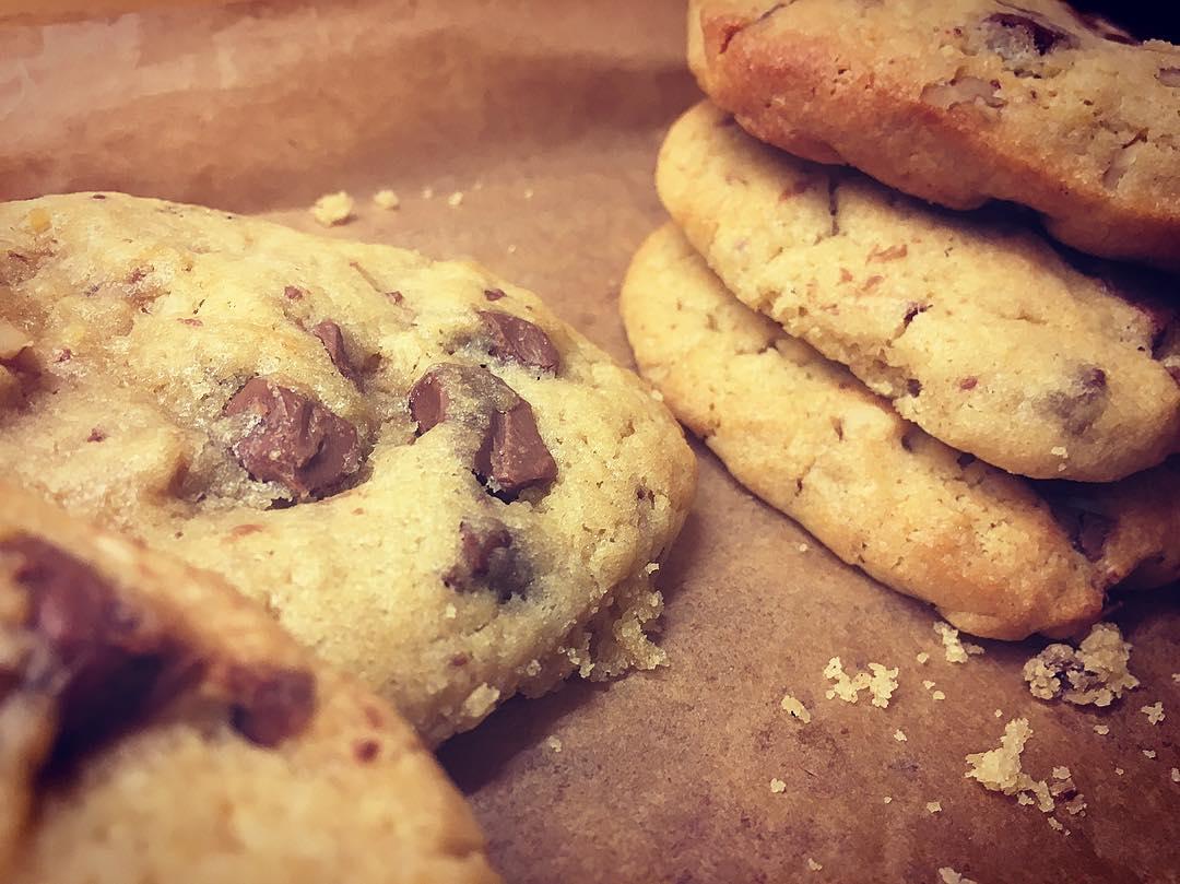 Cookies (choc, walnut, sea salt)