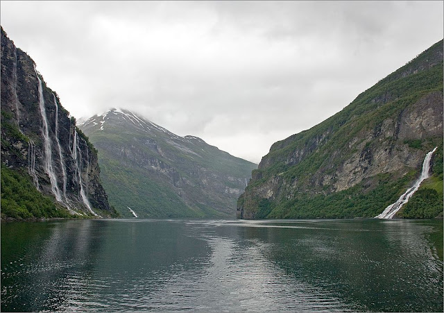 The Geirangerford,Norway,travel,melancong,tempat menarik