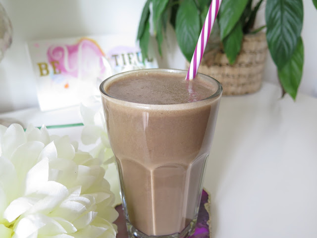 vegan coffee protein smoothie