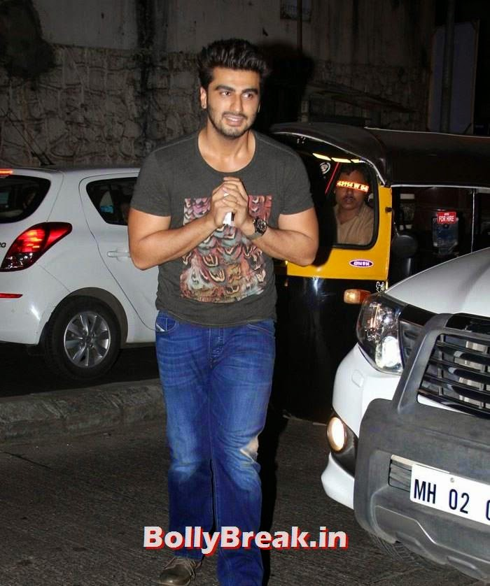 Arjun Kapoor, Varun, Yami, Shruti, Nargis Pics from Badlapur Movie Wrap up party