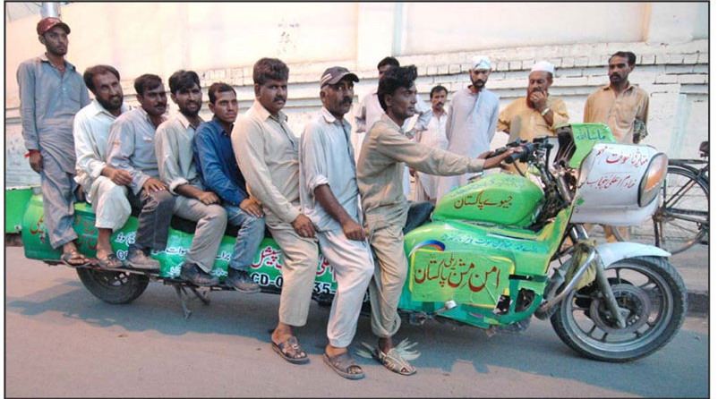funny pakistani pakistan harley davidson