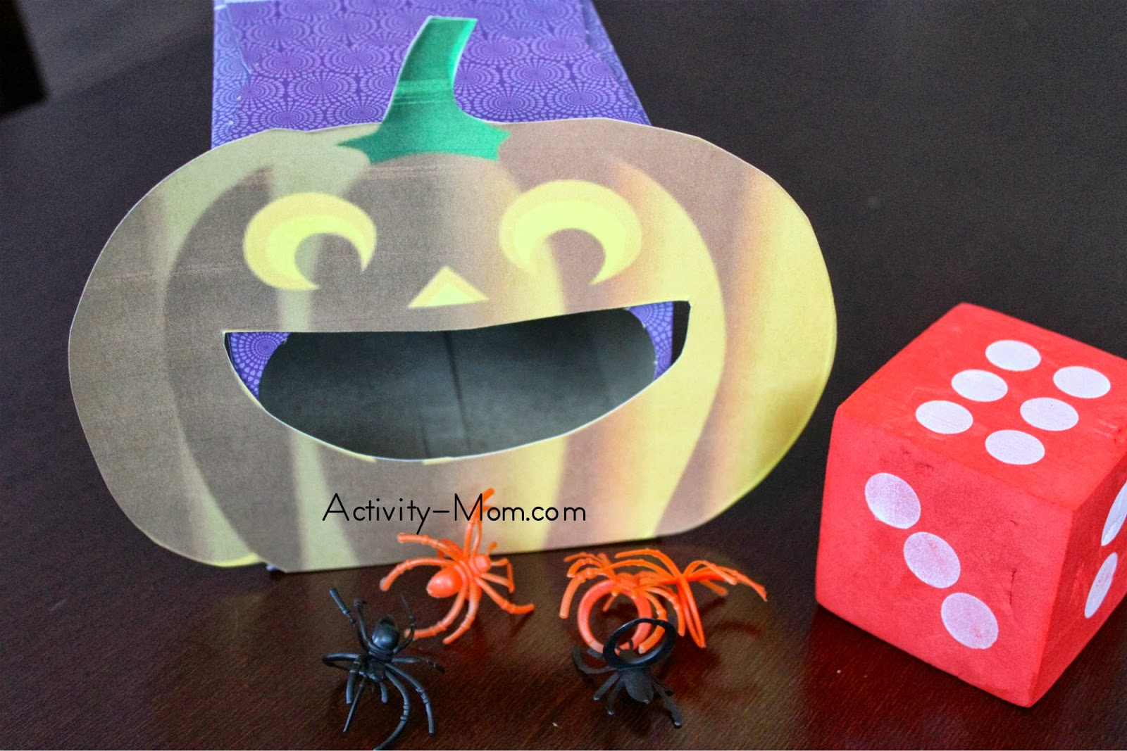 The Activity Mom Pumpkin Game Printable