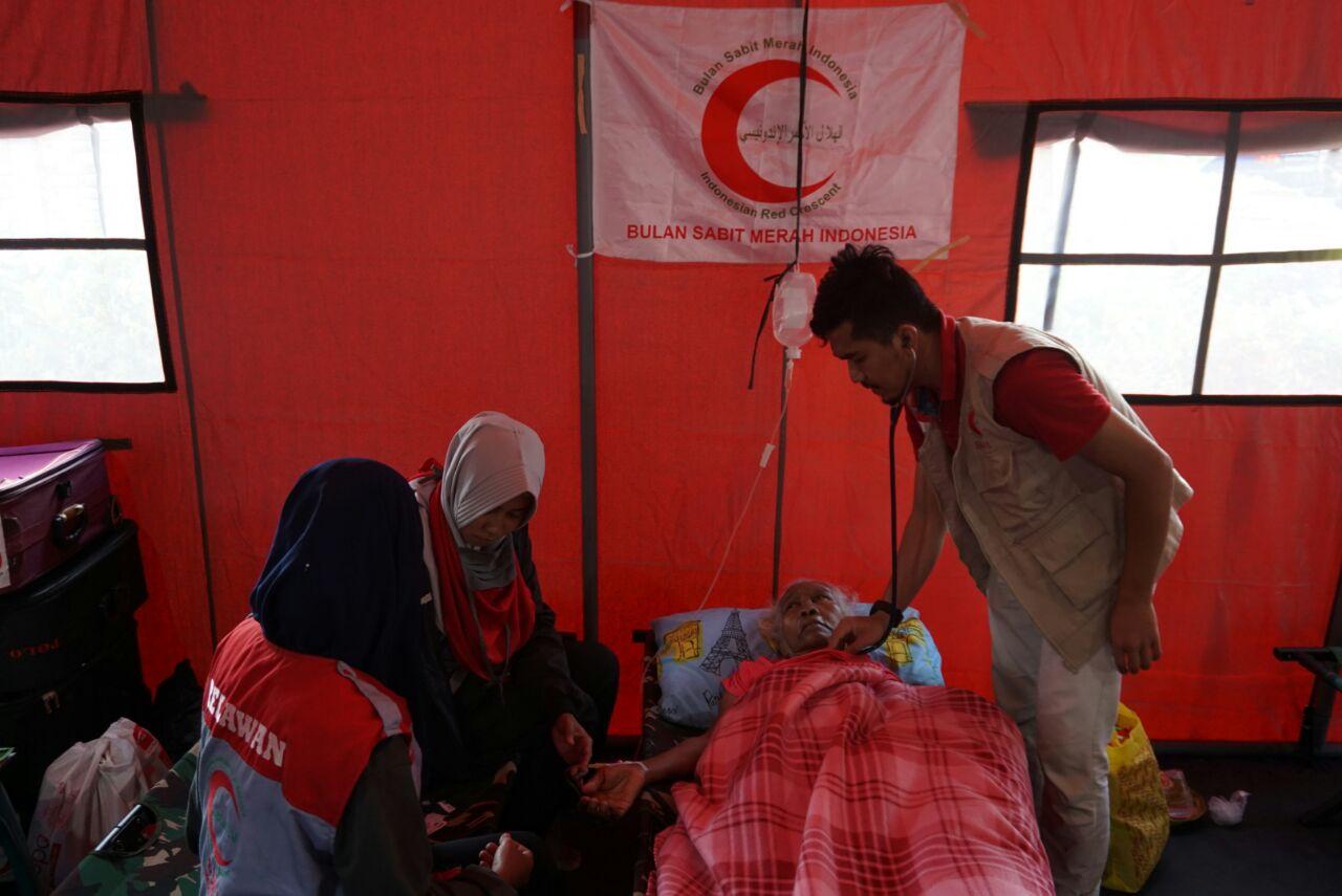 Rumah Sakit Lapangan BSMI Sudah Layani Seribuan Pasien di Gempa Lombok