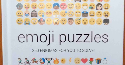 Book review : Emoji Puzzles - 350 Enigmas For You To Solve