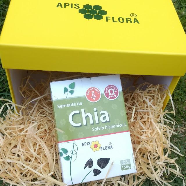 Semente de Chia - Salvia Hispanica L Apis Flora