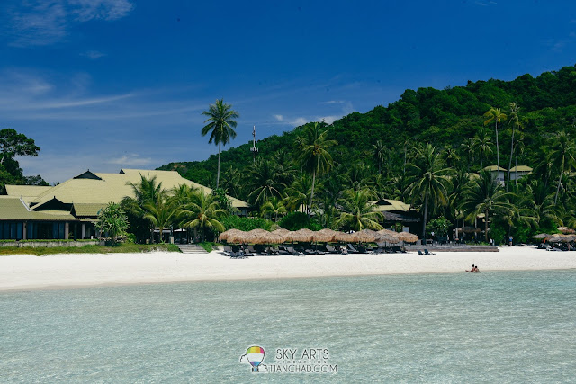 The Taaras Beach & Spa Resort in Pulau Redang beautiful view and scenery