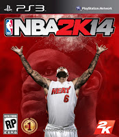 NBA 2K14 PS3 Cover