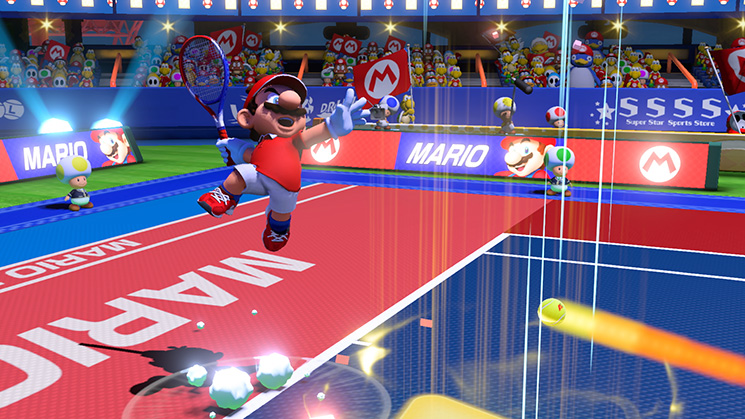 Mario Tennis Aces destined to take Nintendo Switch's online community by storm
