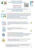 Programma Leggimi Leggime Maggio 2017