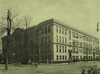 Battin High School, Elizabeth, NJ in 1928. From the school yearbook.
