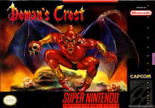 Demon's Crest snes rom game cover art