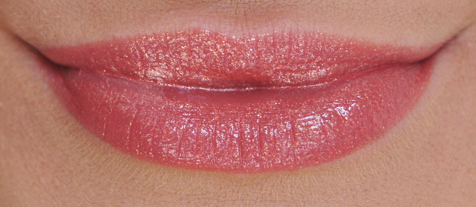 revlon colorburst lip butter peach parfait swatch