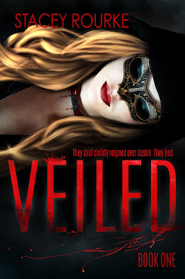 Veiled, Stacey Rourke, cover reveal, On My Kindle Book Reviews