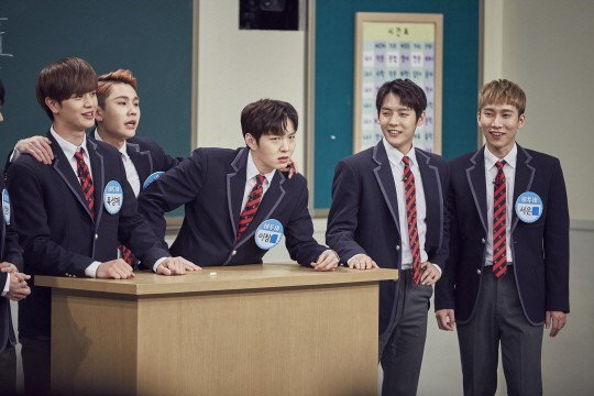 Sungjoyfamily 170506 ask us anythingknowing brother btob eng sub credit kshowonline stopboris Image collections