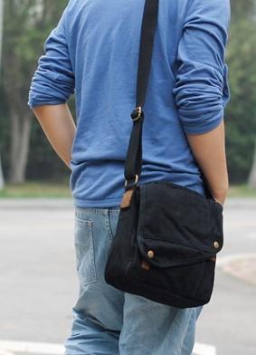 look masculino com bolsa