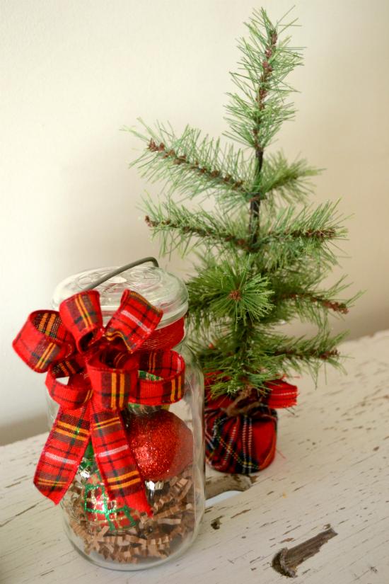 Homeroad Make A Diy Vintage Jar Holiday Hostess Gift