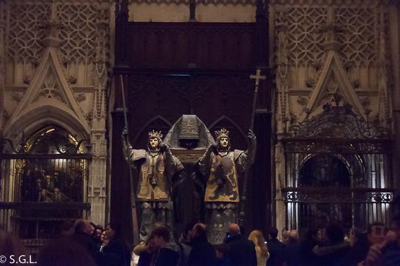 Interior de Catedral de Sevilla. 10 visitas imprescindibles de Sevilla
