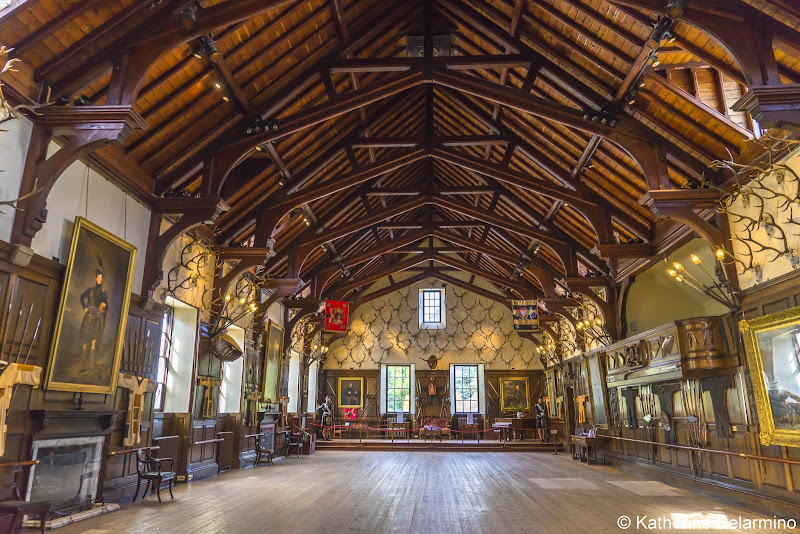 Blair Castle Great Hall Best Castles in Scotland for a Road Trip Itinerary