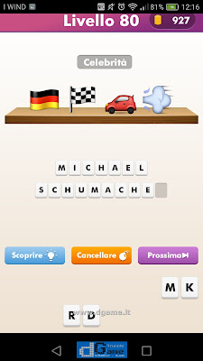 Emoji Quiz soluzione livello 80