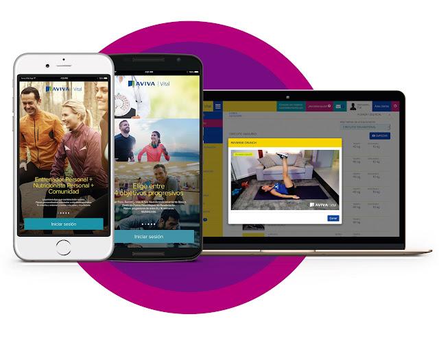 Aviva Vital una webapp multidispositivo