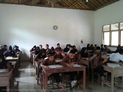 Semester gazal Mts Miftahussalam TA 2016-2017