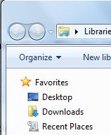 Add custom links into your Favorites sidebar in Windows 7 1