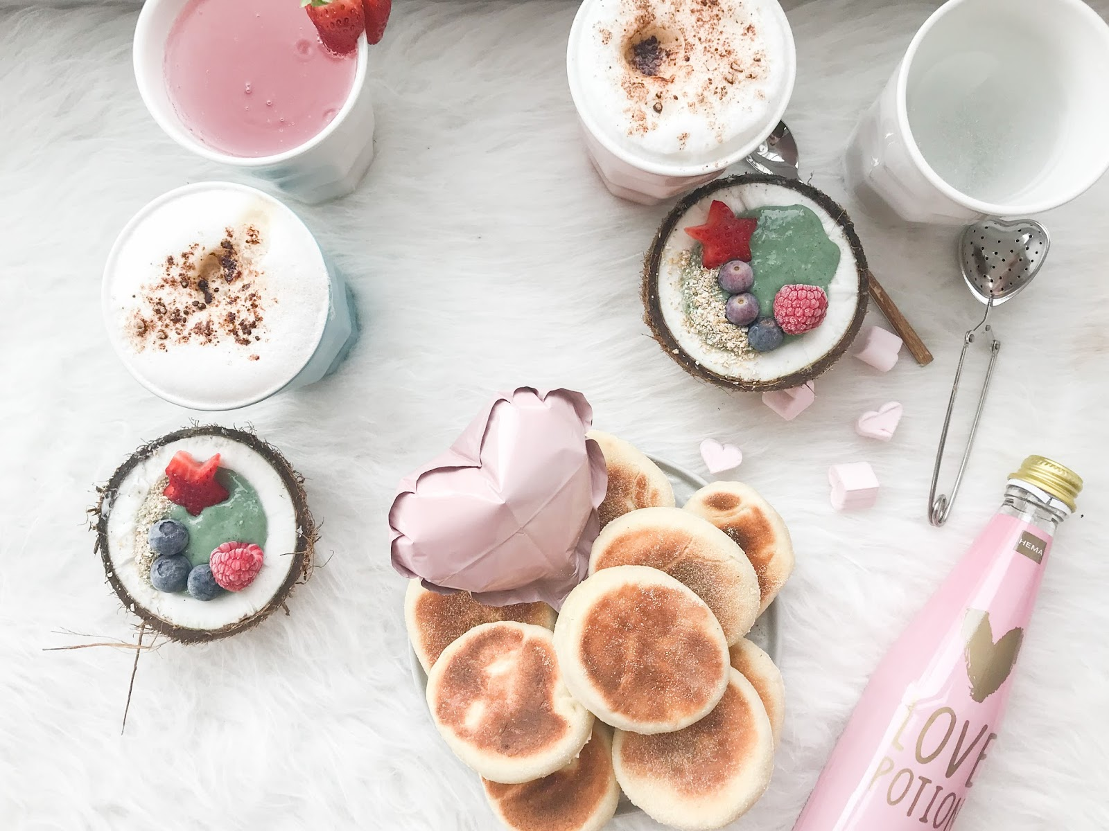 Fall in love with english muffins recipe for a valentines brunch here is the recipe for these english muffins that you can prepare with your kids after trying it you will repeat it for sure forumfinder Images