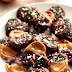 Easy Christmas Chocolate Caramel Pretzel Bites