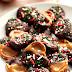 Easy Christmas Chocolate Caramel Pretzel Bites