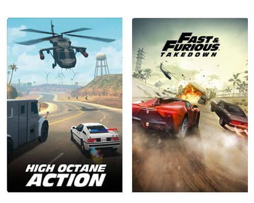 لعبة Fast & Furious Takedown للايفون