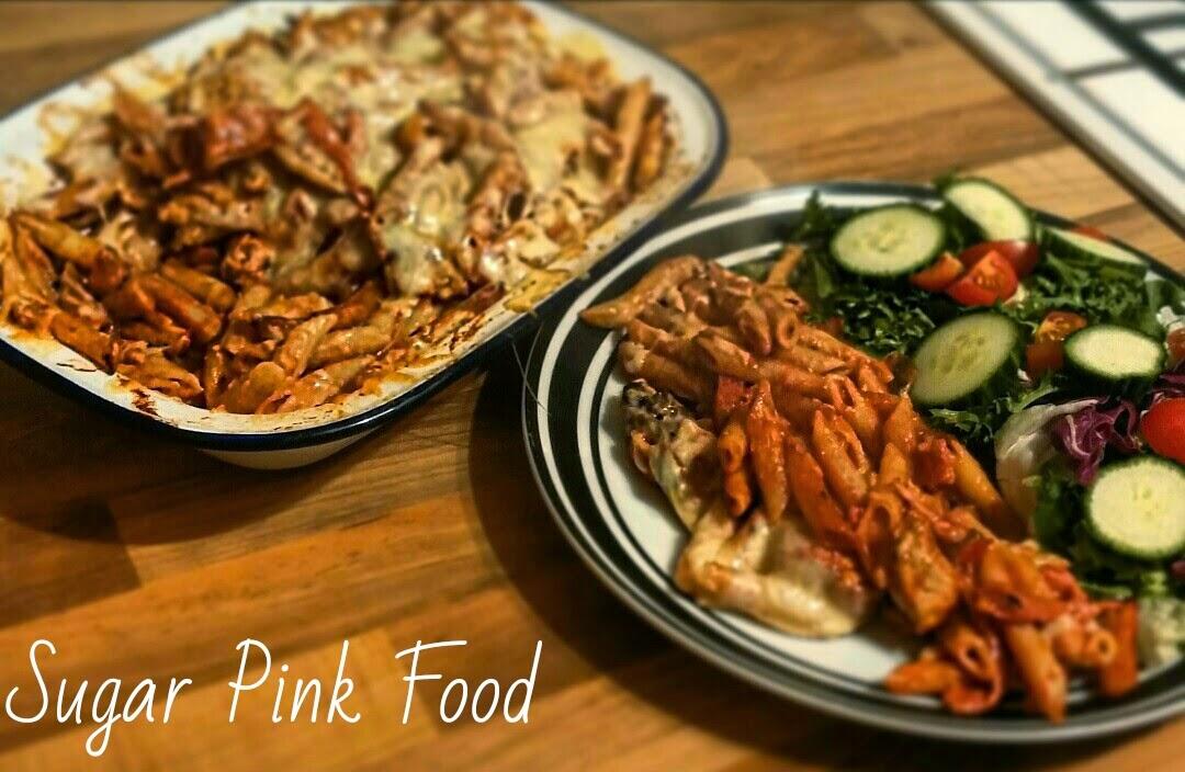 Sugar Pink Food Slimming World Recipe Bbq Chicken Pasta