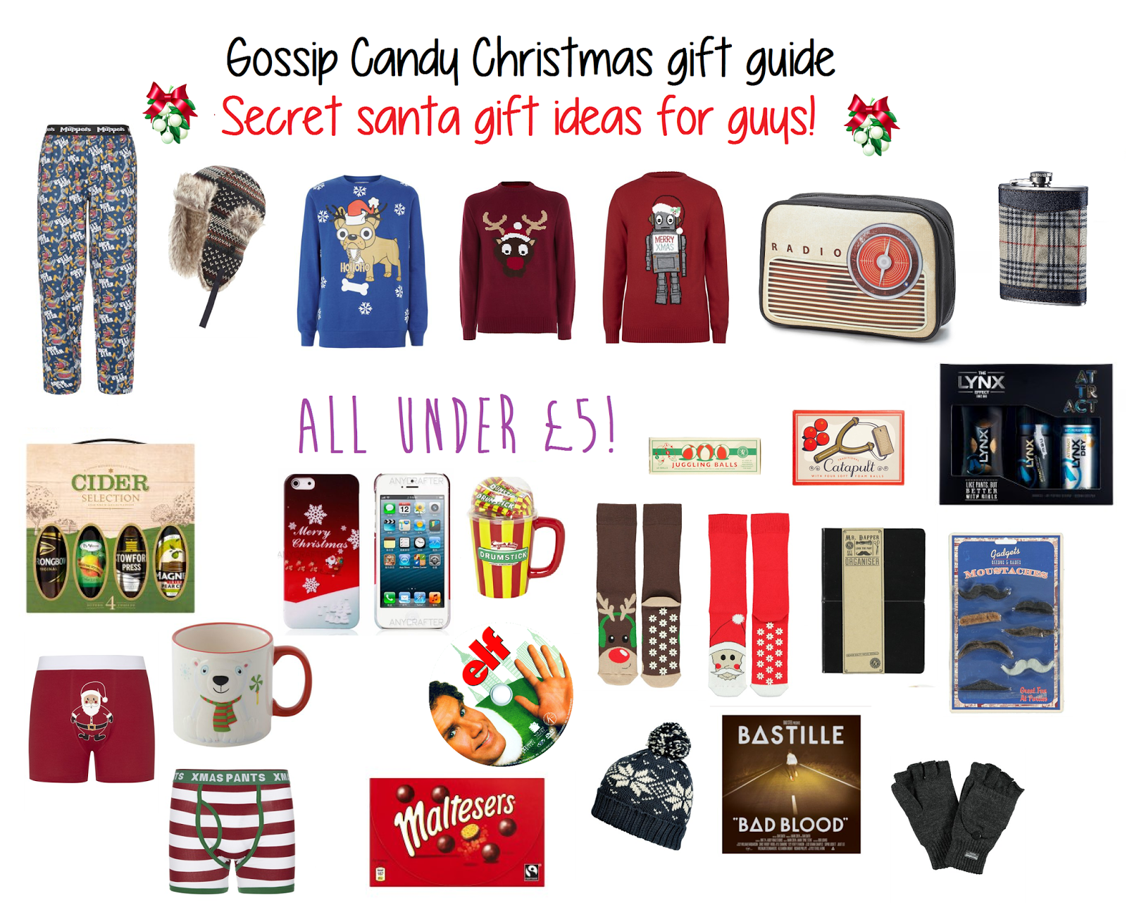 Great Secret Santa Gifts For Guys | Creativepoem.co