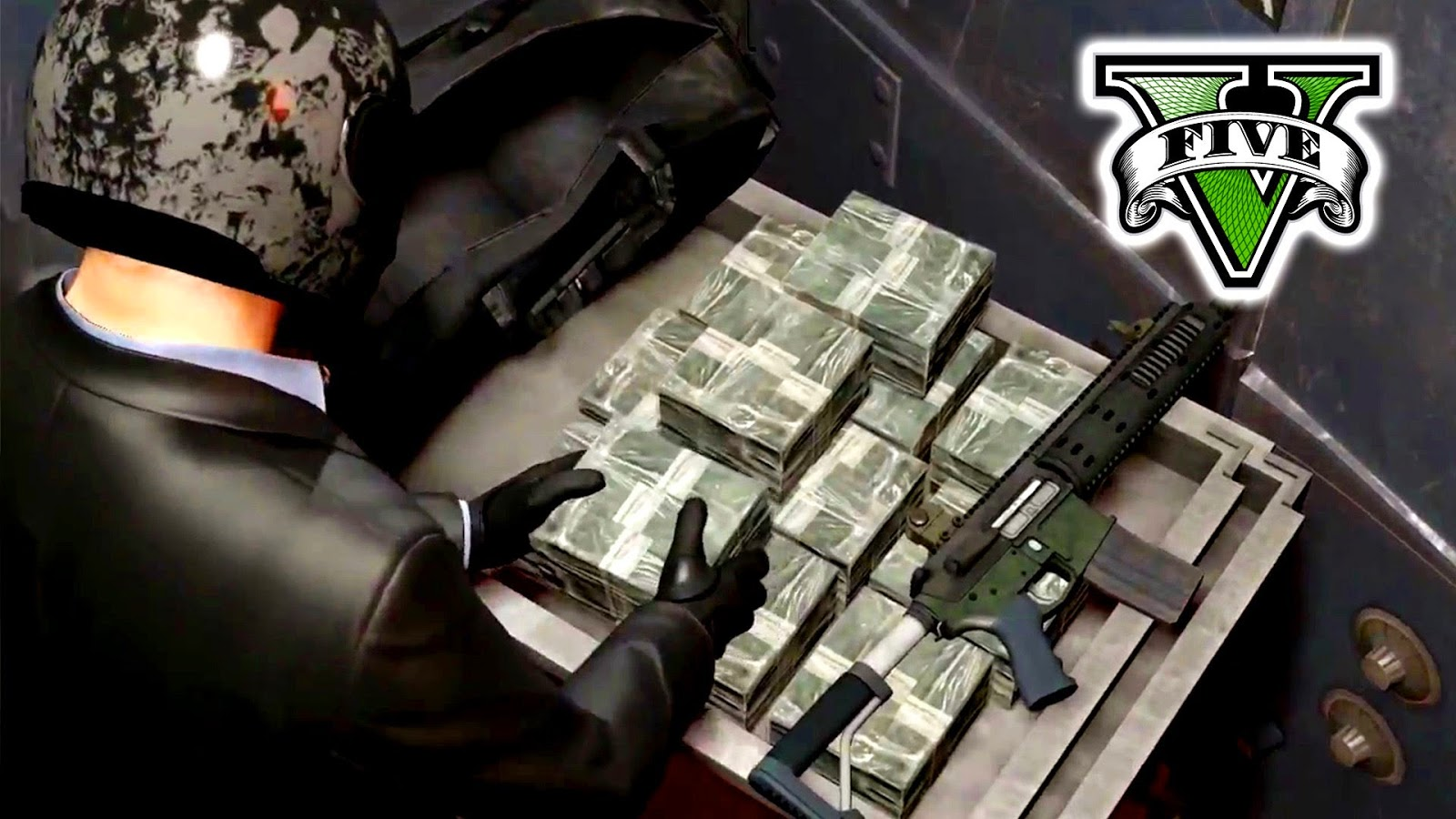 how to do a bank heist on gta v online