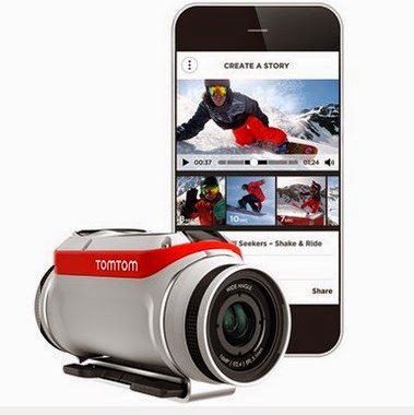 GoPro新對手!TomTom發表智慧運動攝影機-Bandit