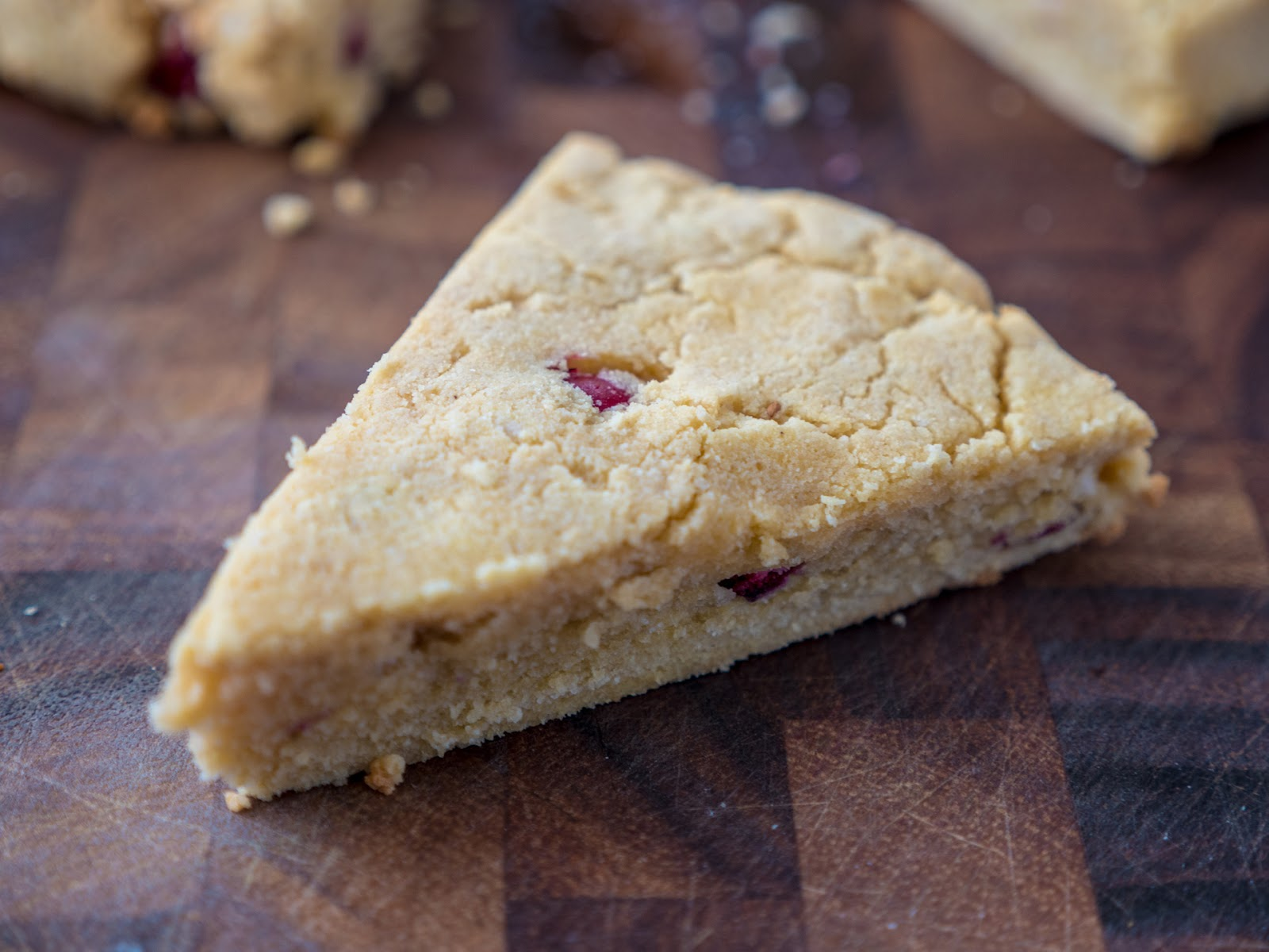 Local Food Rocks: Paleo Cranberry Almond Scones