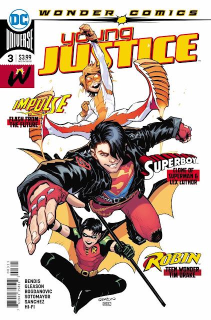 """Comic: Preview de """"Young Justice"""" núm. 3 de Brian Bendis - DC Comics"""