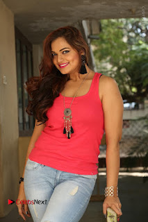 Tollywood Actress Ashwini Latest Stills in Ripped Jeans  0029.JPG