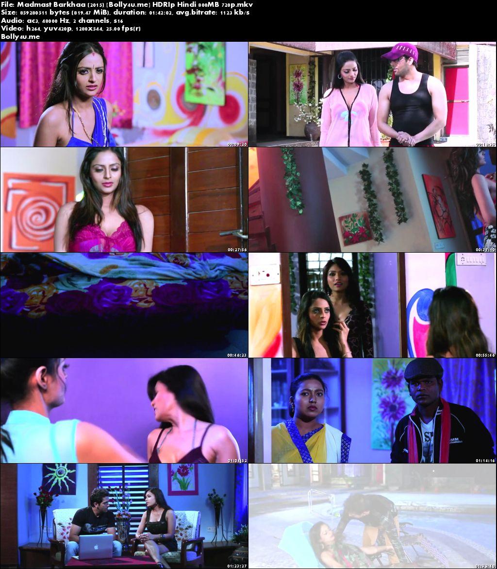Madmast Barkhaa 2015 HDRip 800MB Full Hindi Movie Download 720p