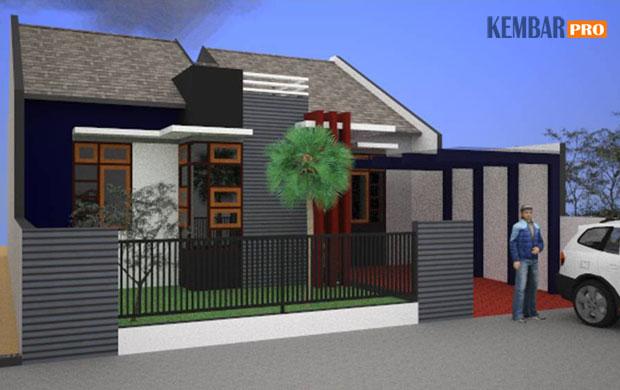 Desain Model Rumah Minimalis Paling Efisien Ekonomis Dan Modern Kembar Pro