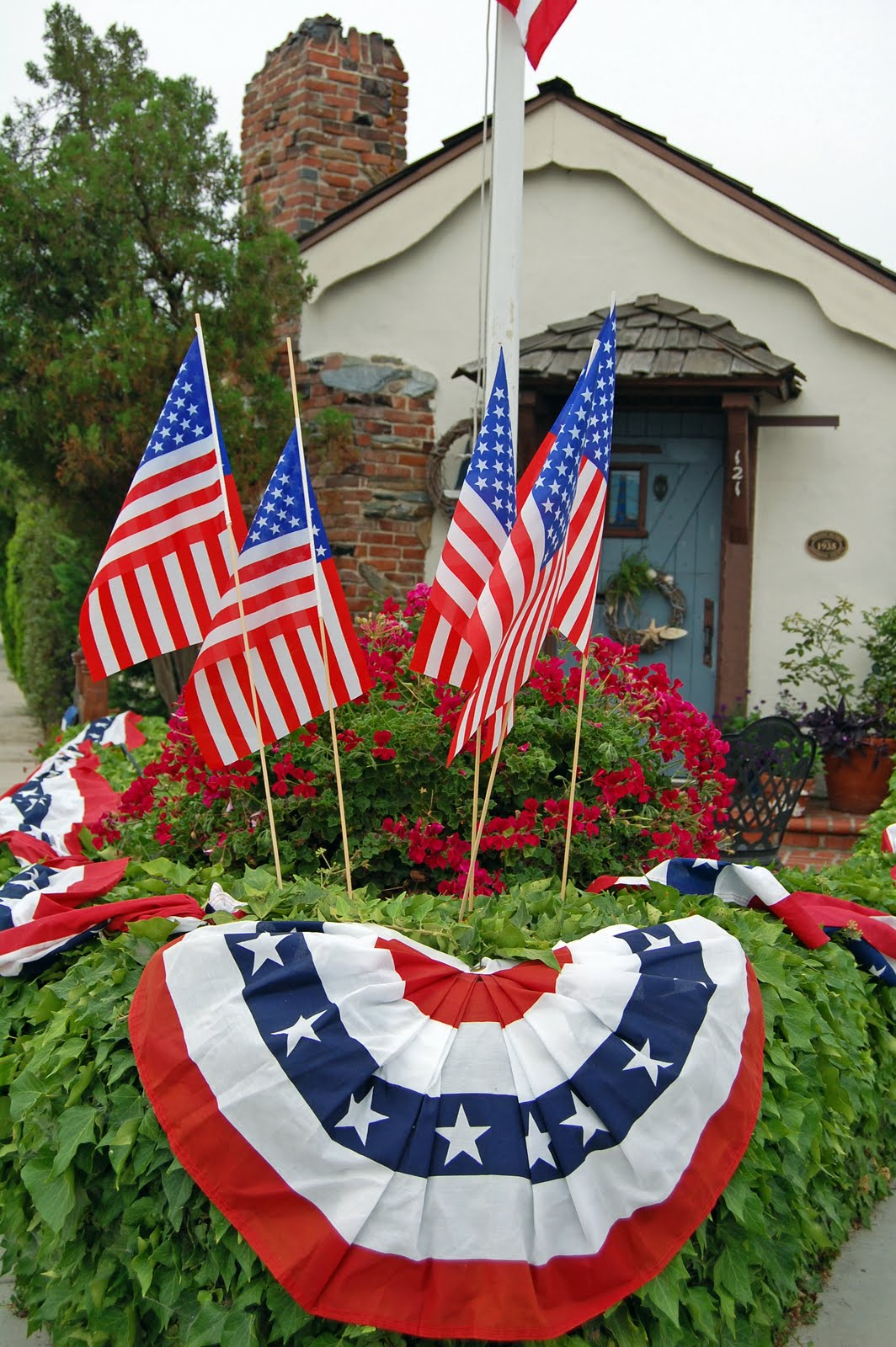 4th of july garden flags my painted garden flags and fourth of july 7362