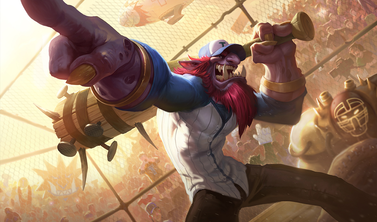 Surrender at 20: 4/28 PBE Update: Updated Trundle skin ...