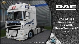 DAF XF Boson Transports Skin