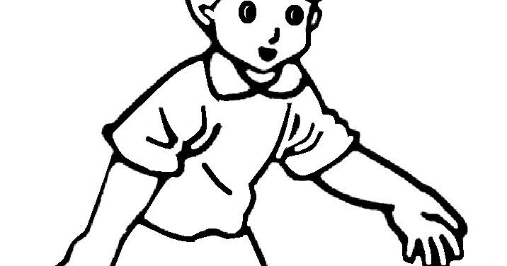 Sketsa Gambar Gadis Mewarnai Gambar Sketsa Kartun Anak Muslim 51