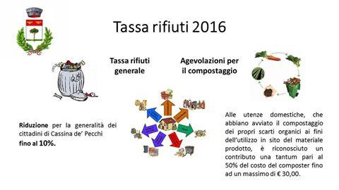 Cassinapd tassa rifiuti 2016 vantaggi per i cittadini e for Agevolazioni utenze domestiche