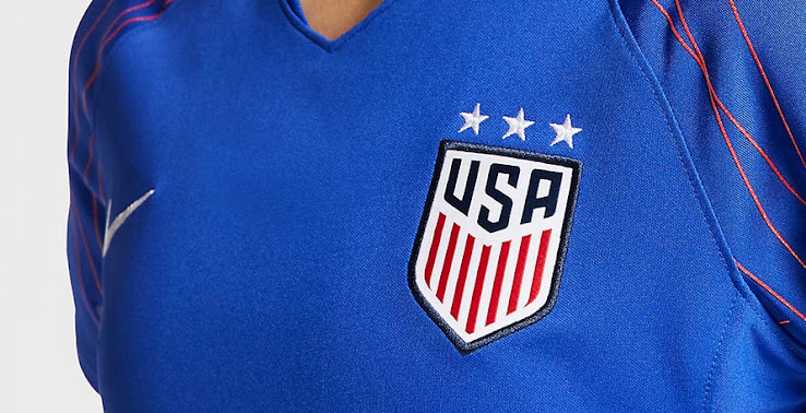 c7de7a466a9 Nike USA 2019 Women s World Cup Pre-Match Jersey Released - Footy ...